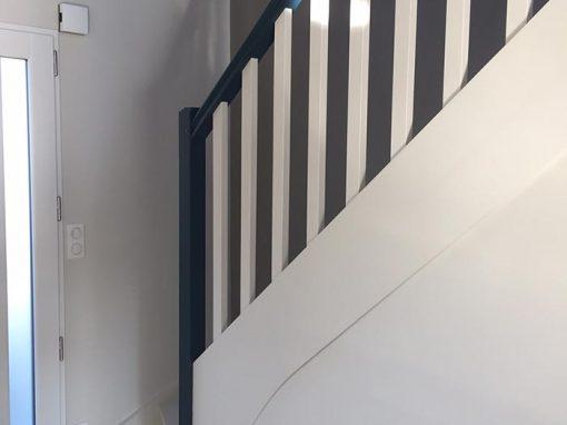 Peinture escaliers